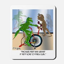 Dinosaurs @ Health Clubs? Mousepad