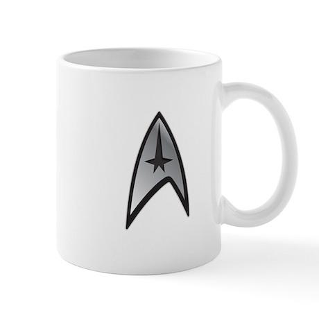 Star Trek Command Badge Mug