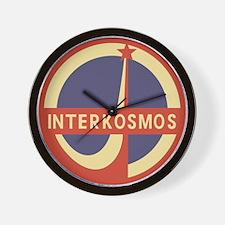 Interkosmos Wall Clock