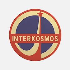 """Interkosmos 3.5"""" Button"""