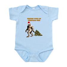 BIGFOOT STOLE MY CHRISTMAS TR Infant Bodysuit