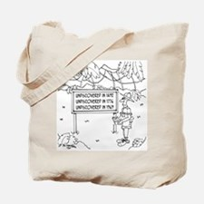 Undiscovered in 1492, 1776 & 1969 Tote Bag