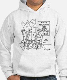 We Speak Hieroglpyphics Hoodie Sweatshirt