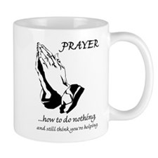 Prayer How to Do Nothing Mug