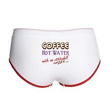 COFFEE Women's Boy Brief