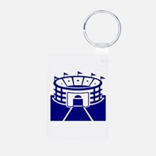 Blue Stadium Keychains