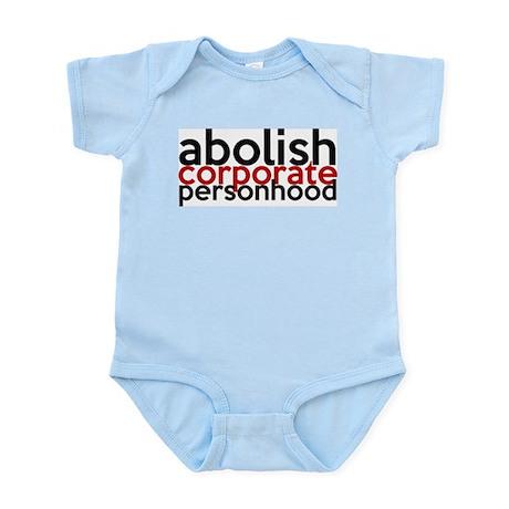 Abolish Corporate Personhood Infant Bodysuit