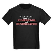 Numerator and Denominator T