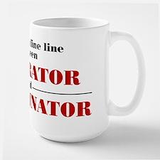 Numerator and Denominator Large Mug