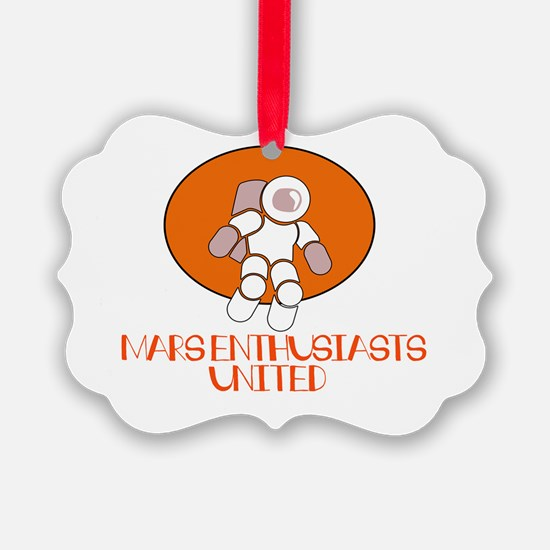 Cute Mars investigation Ornament