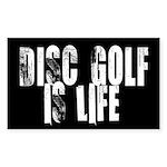 Sticker - Disc Golf Is Life
