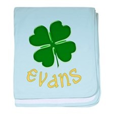 Irish Evans baby blanket