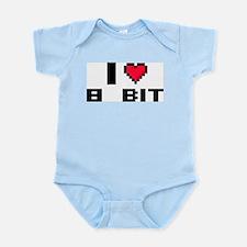 I Love 8 Bit Infant Bodysuit