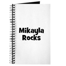 Mikayla Rocks Journal