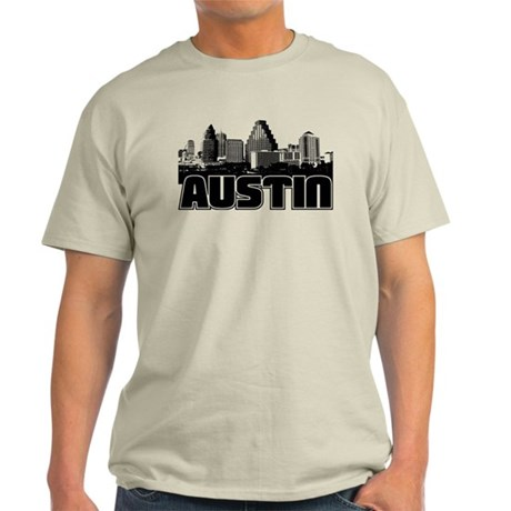 Austin Skyline Light T-Shirt
