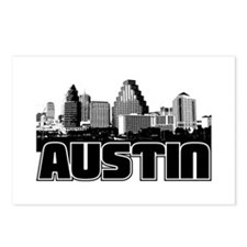 Austin Skyline Postcards (Package of 8)