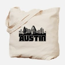 Austin Skyline Tote Bag