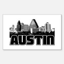 Austin Skyline Decal