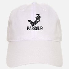 Parkour, Distressed Baseball Baseball Cap