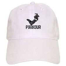 Parkour, Distressed Baseball Cap