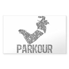 Parkour, Distressed Decal