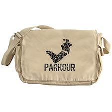 Parkour, Distressed Messenger Bag