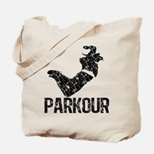 Parkour, Distressed Tote Bag