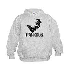 Parkour, Distressed Hoodie