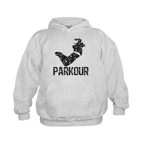 Parkour, Distressed Kids Hoodie