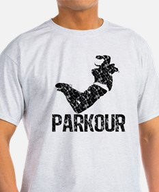 Parkour, Distressed T-Shirt