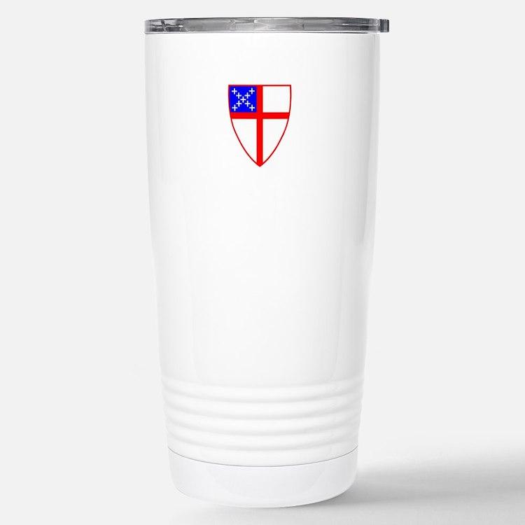 Episcopal Shield Travel Mug