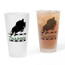 Jumping Trainer Drinking Glass
