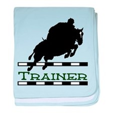Jumping Trainer baby blanket