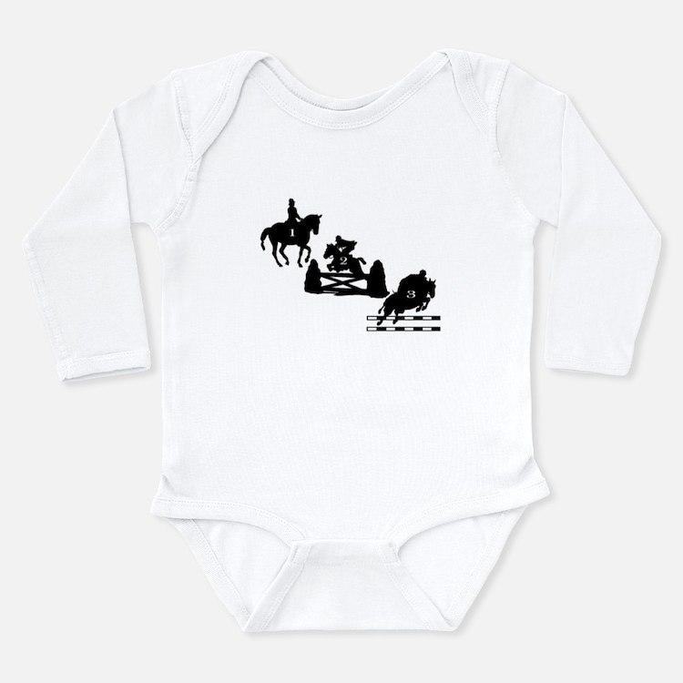 3 Day Eventing Long Sleeve Infant Bodysuit