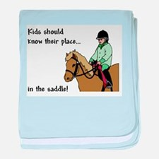 kids should ride baby blanket
