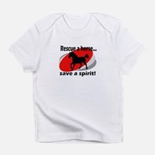 Rescue a Horse, Save a Spirit Infant T-Shirt