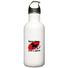 Rescue a Horse, Save a Spirit Water Bottle