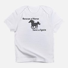 Rescue a Horse Infant T-Shirt