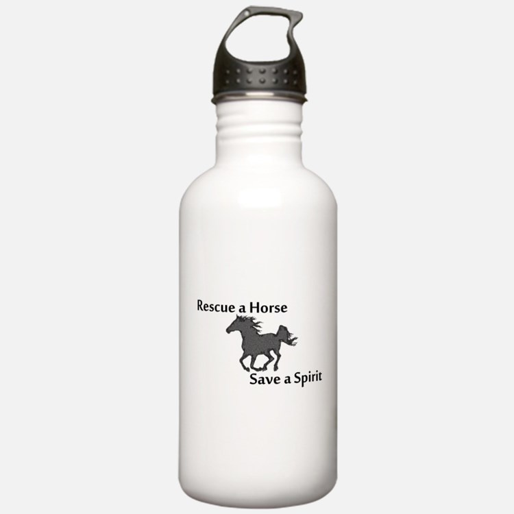 Rescue a Horse Water Bottle