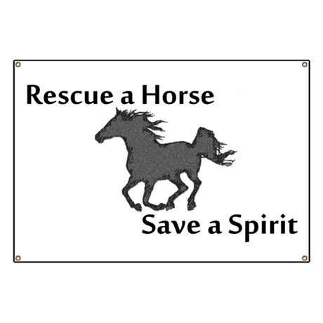 Rescue a Horse Banner