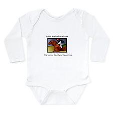 Adopt a Racehorse Long Sleeve Infant Bodysuit