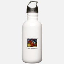 Adopt a Racehorse Water Bottle