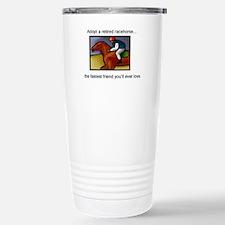 Adopt a Racehorse Travel Mug