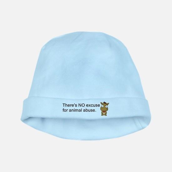 No Excuse baby hat