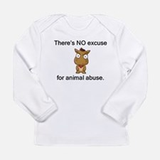 No Excuse Long Sleeve Infant T-Shirt