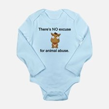 No Excuse Long Sleeve Infant Bodysuit