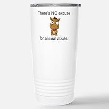 No Excuse Travel Mug