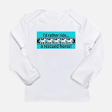 Horse Rescue Long Sleeve Infant T-Shirt