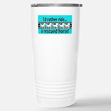 Horse Rescue Travel Mug