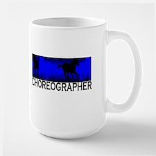 choreographer Large Mug